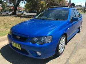 2006 Ford Falcon BF XR6T Blue 6 Speed Auto Seq Sportshift Sedan Chester Hill Bankstown Area Preview