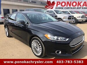 2015 Ford Fusion Titanium, AWD, Remote Start, Navigation, LOW KM