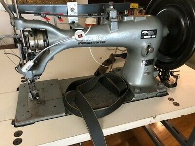 Singer Industrial Harness Sewing Machine 7-33 With Table Motor Thread Stand