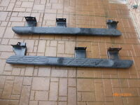 Ford Escape Running Boards Black Side  Nerf Boards Like New