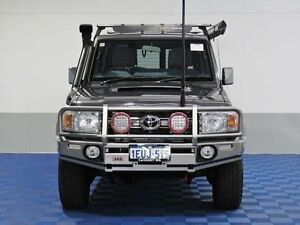 2015 Toyota Landcruiser VDJ76R MY12 Update GXL (4x4) Grey 5 Speed Manual Wagon Jandakot Cockburn Area Preview