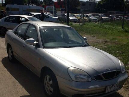 2002 Daewoo Nubira Limited Edition Silver 5 Speed Manual Sedan