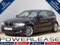 2009 59 BMW 1 SERIES 2.0 118I M SPORT 3D 141 BHP