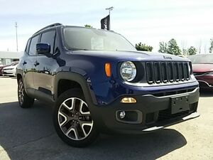 2016 Jeep Renegade North | COMPANY DEMO | 4X4 | BACK UP CAM | HE