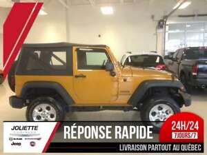 2014 Jeep Wrangler Sport, MANUELLE, LIFT KIT, 3.73, FOG