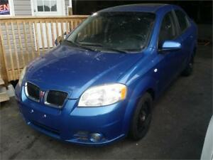 2007 Pontiac Wave SE,Fully Loaded,Power Sunroof,Only 77,000 km!
