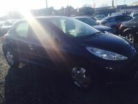 2007 PEUGEOT 207 1.4 16V S 5 DOOR 12 MONTHS MOT and WARRANTY AVAILABLE