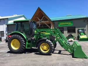 2016 JOHN DEERE 5100M – CAB TRACTOR WITH LOADER!