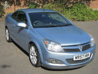 VAUXHALL ASTRA 1.9 CDTi TWIN TOP DESIGN CONVERTIBLE 2007 (57) ONLY 57K / 1YR MOT
