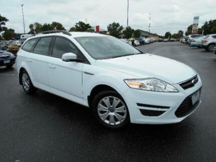 2011 Ford Mondeo MC LX White 6 Speed Automatic Wagon Maidstone Maribyrnong Area Preview