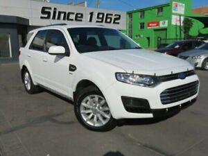 2016 Ford Territory SZ MK2 TX (4x4) White 6 Speed Automatic Wagon Granville Parramatta Area Preview