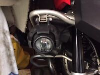 PAIR Of Auxiliary Spot Light BMW R 1200 GS Adventure Fog Halogen