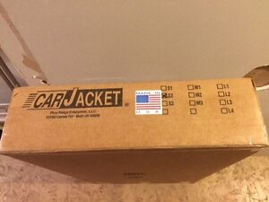 Car jacket ( store your car in this protective bag )