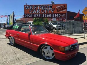 1979 Mercedes-Benz 450SL R107 Red 3 Speed Automatic Roadster Laverton Wyndham Area Preview