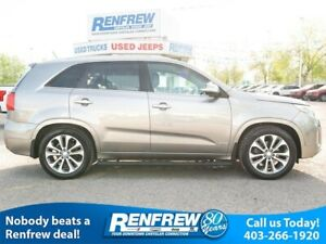 2015 Kia Sorento AWD V6 SX w/3rd Row, Pano Sunroof, Nav, Cooled/