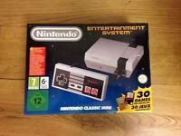 Nintendo Classic Mini NES Entertainment Console BNIB