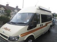 2003 FORD TRANSIT WANDERER 11, HIGH TOP, 2 BERTH CAMPERVAN FOR SALE