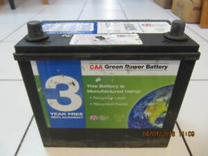 Classic CAA Green Power Battery Model 51-C 450 CCA X Condition!!
