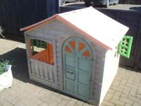 free wendy house needs a clean