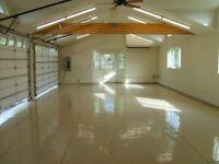 stunning new garage floor