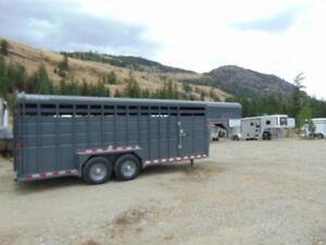 2018 Maverick HD 20 Ft Stock GN Trailer w. Spare and Upgrades