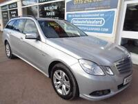 Mercedes-Benz E220 2.1CDI Blue F CDI SE Estate S/H Finance Available P/x