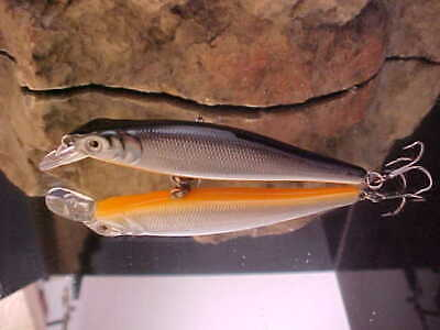 NEW SP Bronze R1132-HAJ Yo-Zuri Crystal Minnow Suspending