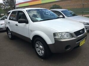 2005 Ford Territory SX TS (RWD) White 4 Speed Auto Seq Sportshift Wagon Campbelltown Campbelltown Area Preview
