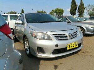 2011 Toyota Corolla ZRE152R MY11 Ascent 4 Speed Automatic Sedan