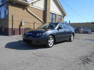 2007 Mazda 3i GS 2.0L 4cyl  Certified 238,000KMs