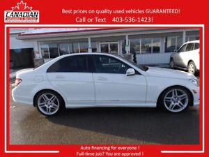 2011 Mercedes-Benz C-Class C350 4matic AWD LOW KMS LOADED REDUCE
