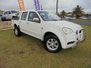 2010 Great Wall V240 K2 Super Luxury White 5 Speed Manual Utility Wangara Wanneroo Area Preview