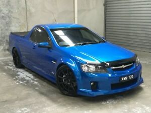 2009 Holden Ute VE MY09.5 SS Blue 6 Speed Manual Utility