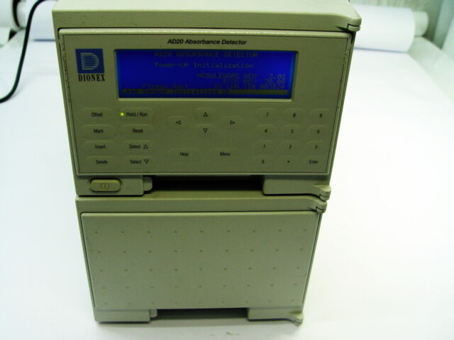 Dionex AD20 Absorbance Detector .