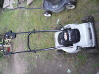 CARFTSMAN 21 INCH ELECTRIC LAWN MOWER