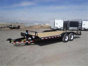 """14K - 96"""" X 20' Drive-Over Fender Equipment Trailer by Big Tex"""