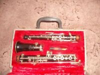 Vintage Selmer Sterling Wooden Oboe