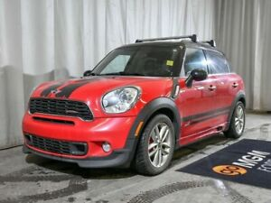 2014 Mini Cooper Countryman JOHN COOPER WORKS | LEATHER | MOONRO