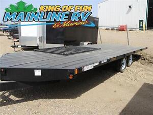 2016 Rainbow Trailers 20'Xpress 4 Place 2-BR 7000#G Cargo Traile