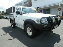 2001 Nissan Patrol GU DX White 5 Speed Manual Cab Chassis Buderim Maroochydore Area Preview