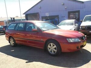2003 Holden Commodore VY Acclaim Red 4 Speed Automatic Wagon North St Marys Penrith Area Preview