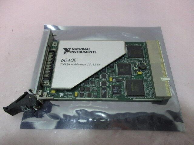 National Instruments PXI-6040E 250kS/S Multifunction I/O, 12 Bit Board, 416051
