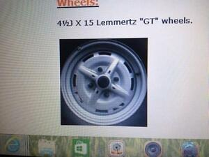 "VW  Beetle wheels wanted- Lemmerz GT 4 1/2"" x 15"" 4 x130 PCD Maitland Maitland Area Preview"