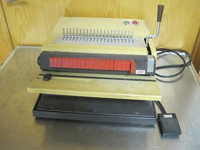 Gbc 422-km General Binding Corporation Model 422-km Punch And Coiler Comb