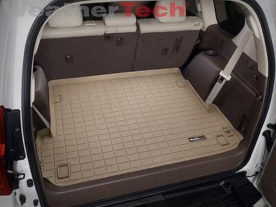WeatherTech Cargo Liner Trunk Mat for Lexus GX460 w/ 3-Zone 2010-2018 - Tan