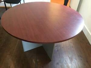 Round meeting room table Croydon Park Canterbury Area Preview