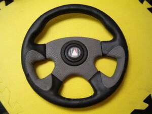 Leather steering wheel by Autotecnica