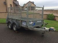 IFOR WILLIAMS 2015 GD85 TWIN AXLE TRAILER