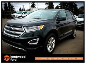 2018 Ford Edge SEL 201A 2.0L ecoboost AWD with NAV, heated steer