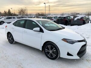 2017 Toyota Corolla LE ... SUNROOF, HEATED STEERING WHEEL & SEAT